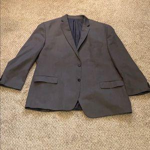 Michael Kors charcoal blazer 50R